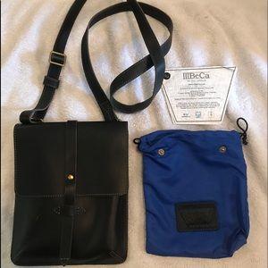 IIIBeca Joy Gryson Black Chambers Crossbody purse
